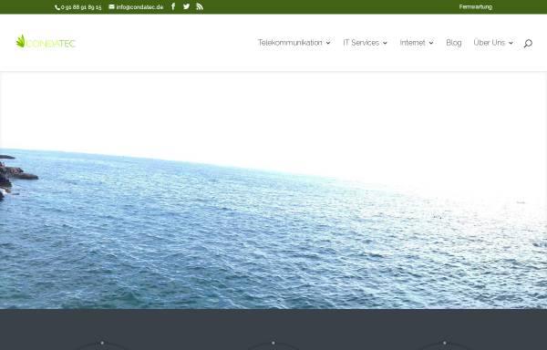 Vorschau von www.condatec.de, Condatec Blog