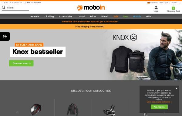 Vorschau von www.motoin.de, Motoin GmbH