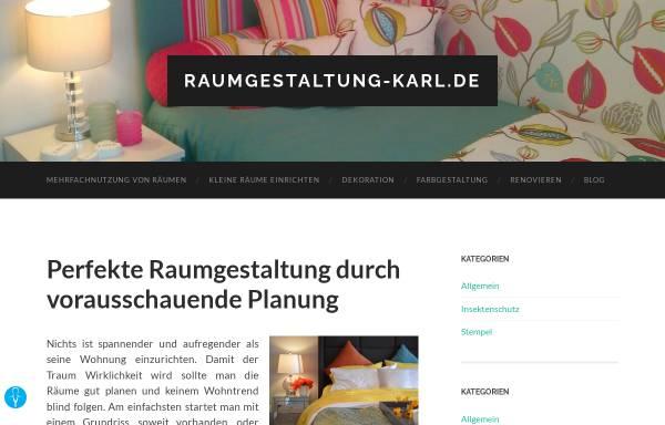 Vorschau von www.raumgestaltung-karl.de, Karl Raumgestaltung, Mühlheim