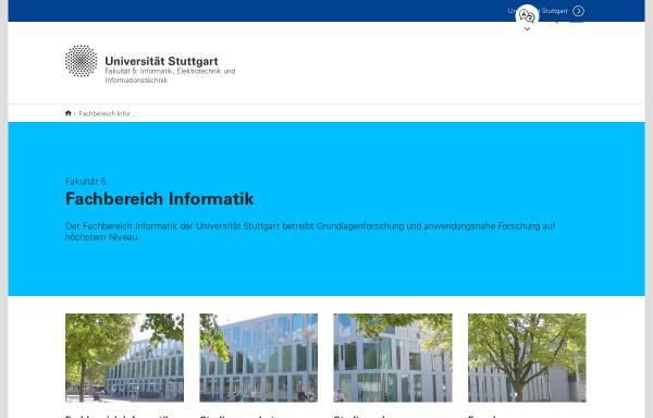 Vorschau von www.informatik.uni-stuttgart.de, Informatik Forum Stuttgart