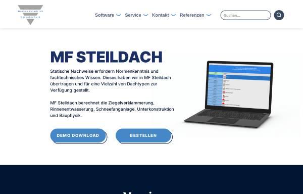 Vorschau von www.mf-steildach.de, Markus Friedrich