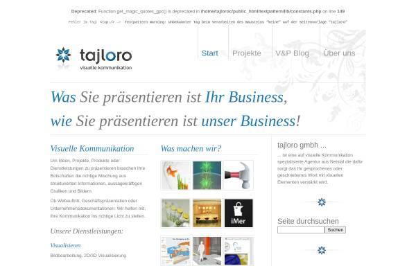 Vorschau von www.tajloro.com, Tajloro GmbH