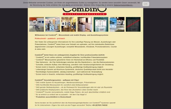 Vorschau von www.combino.net, Combino GmbH