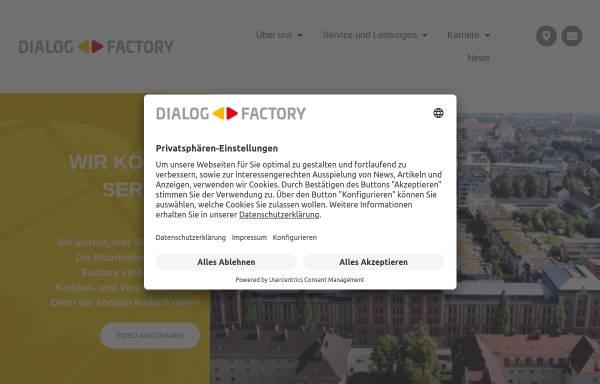 Vorschau von www.dialogfactory.de, Dialog-Factory GmbH