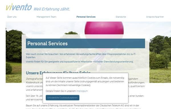 Vorschau von www.vivento-cs.de, Vivento Customer Services GmbH