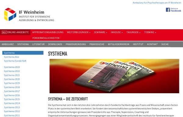 Vorschau von if-weinheim.de, Systhema