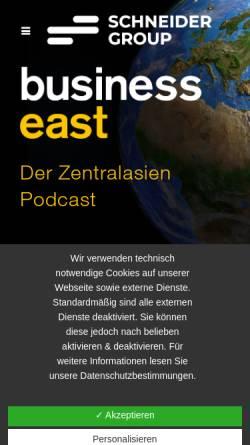 Vorschau der mobilen Webseite www.owc.de, OWC-Verlag für Außenwirtschaft GmbH