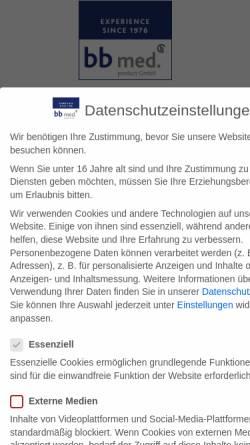 Vorschau der mobilen Webseite bb-kalkar.de, Blue bell Cosmetic GmbH