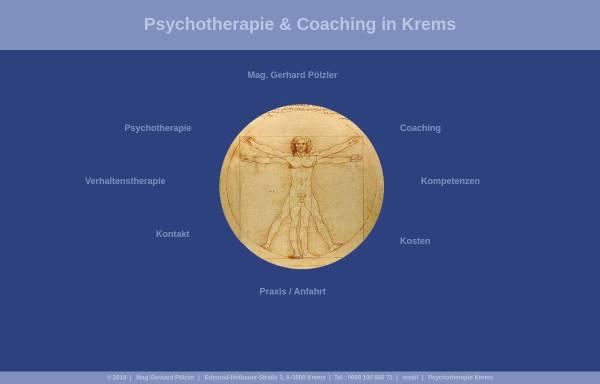Vorschau von www.psychotherapie-poelzler.at, Praxis für Psychotherapie und Coaching - Mag. Gerhard Pölzler
