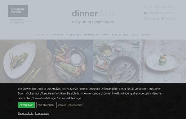 Vorschau von dinnerundco.de, dinner&co
