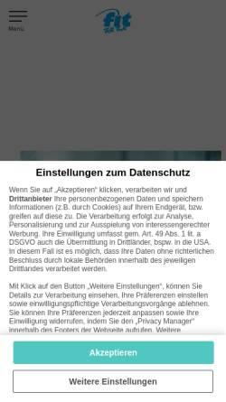 Vorschau der mobilen Webseite www.fitforfun.de, Fit for Fun