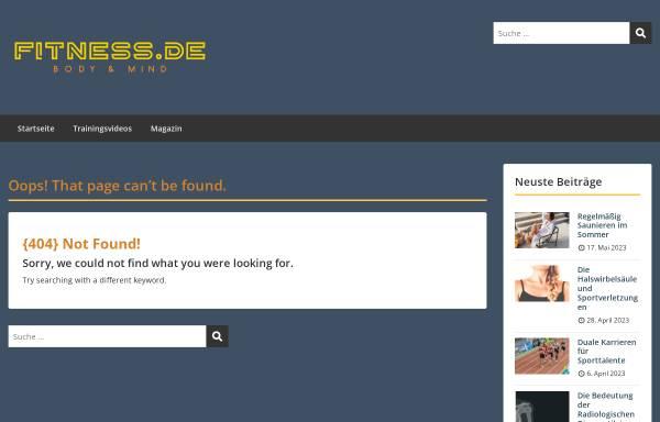 Vorschau von www.fitness.de, Muskel Guide