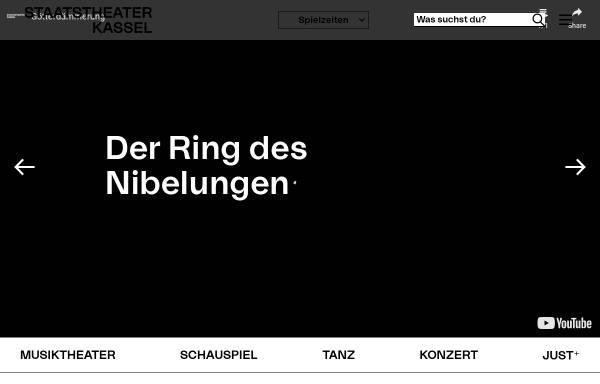 Vorschau von www.staatstheater-kassel.de, Kasseler Staatstheater