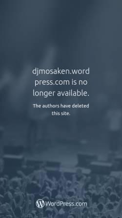 Vorschau der mobilen Webseite djmosaken.wordpress.com, DJ Mosaken
