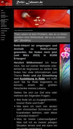 Vorschau der mobilen Webseite www.reiki-altdorf.de, Stefanie Weigle
