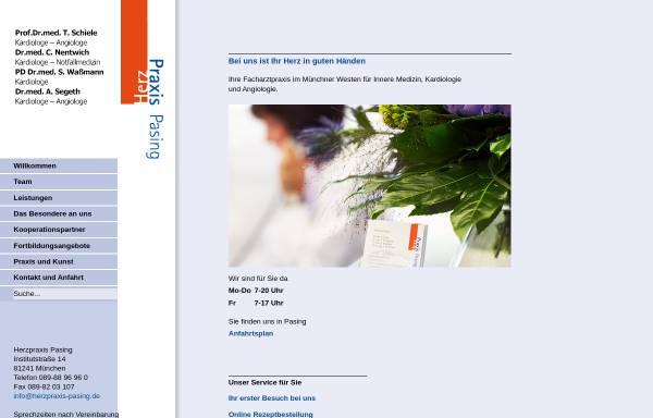 Vorschau von www.herzpraxis-pasing.de, Herzpraxis Pasing