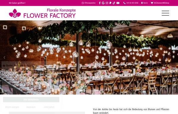 Vorschau von www.flower-factory.de, Flower Factory