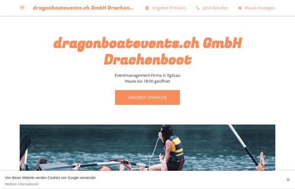 Vorschau von dragonboateventsch.business.site, Dragonboatevents - Felix Meier und Daniel Schmid