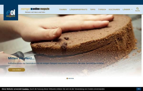 Vorschau von www.europeonline-magazine.eu, Europe Online Magazine