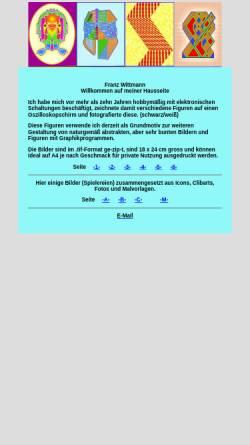 Vorschau der mobilen Webseite www.abc99.at, Wittmann, Franz - Computergrafik