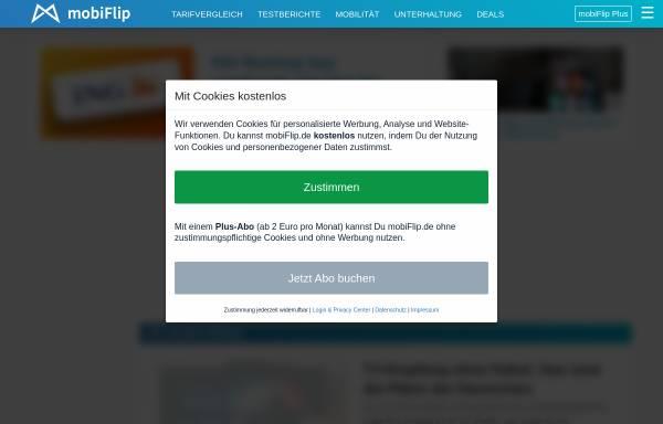Vorschau von www.mobiflip.de, mobiFlip