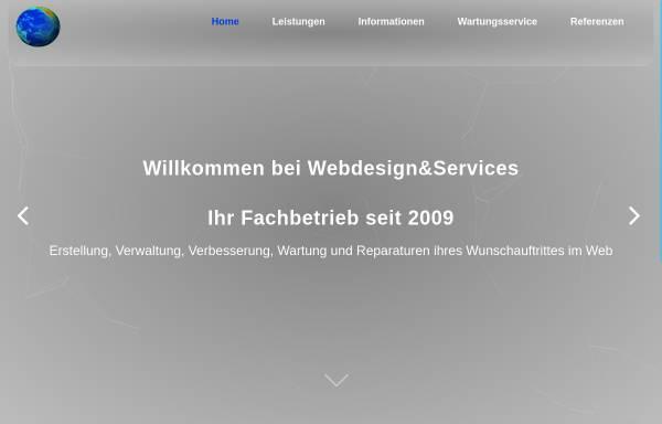 Vorschau von www.webdesign-plus-services.de, Webdesign Christoph Schwarz