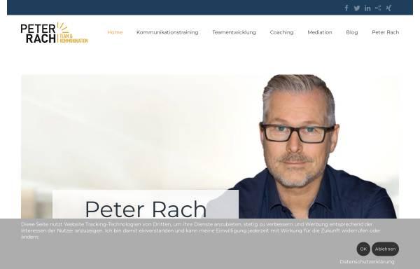 Vorschau von www.peter-rach-coaching.de, Peter Rach