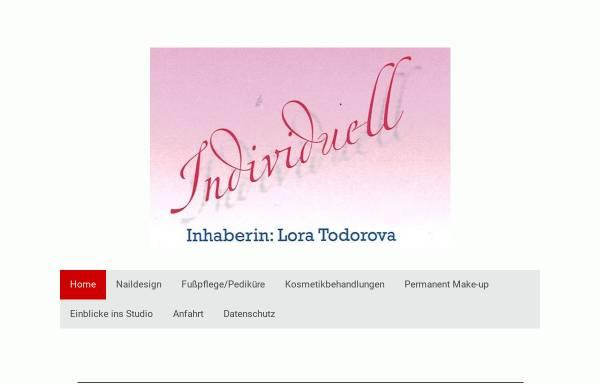 Vorschau von www.individuell.de, Studio Individuell - Inh: Birgit Schneider