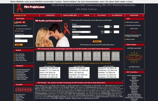 Kostenlose Dating-Seiten hiv