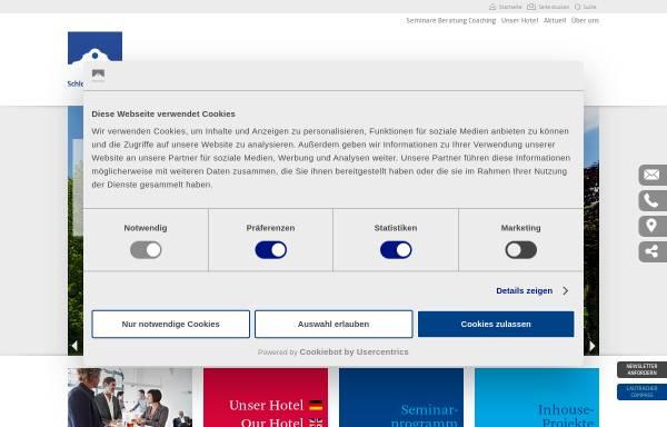 Vorschau von www.schloss-lautrach.de, Management Centrum Schloss Lautrach GmbH