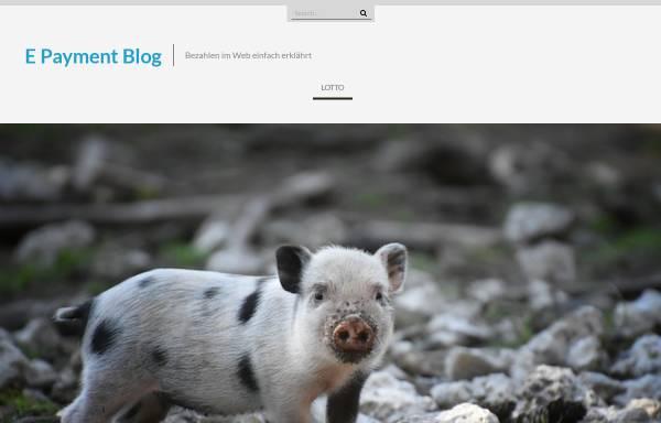 Vorschau von www.epayment-blog.de, E-Payment Blog, Knut Barth