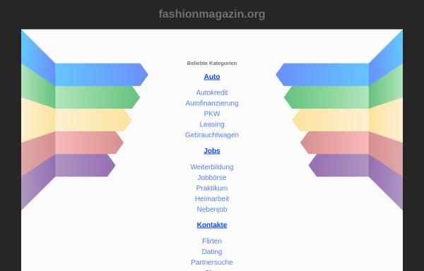 Vorschau von www.fashionmagazin.org, Fashionmagazin