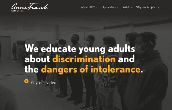 Vorschau von www.annefrank.com, Anne Frank Center USA