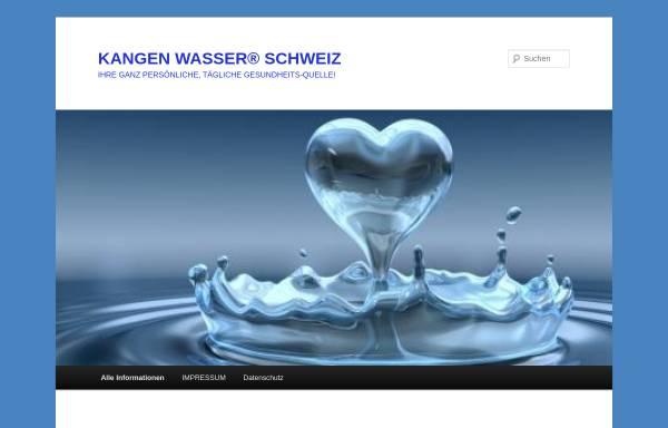 Vorschau von www.kangen-wasser-schweiz.com, Kangen Wasser Schweiz
