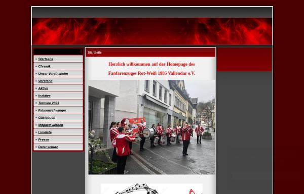 Vorschau von www.fanfarenzug-vallendar.de, Fanfarenzug Vallendar