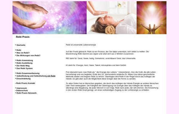 Vorschau von www.reikipraxis.eu, Hans Haasis