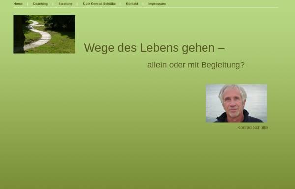 Vorschau von www.konrad-schuelke.de, Konrad Schülke