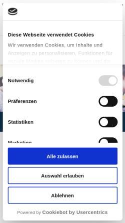 Vorschau der mobilen Webseite www.bti-online.com, BTI - Business Training International GmbH