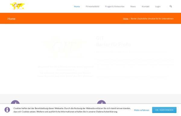 Vorschau von www.gitrade.com, Gruber International Trade Inc. & Co. KEG