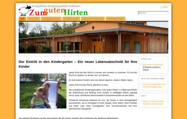 Vorschau von www.kita-zum-guten-hirten.de, Integrative Evangelische Kindertagesstätte