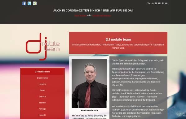 Vorschau von www.dj-mobile-team.de, DJ Mobile Team