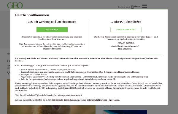 Vorschau von www.geo.de, GEO hilft der Bohne