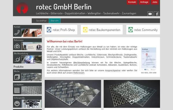 Vorschau von www.rotec-berlin.de, Rotec GmbH