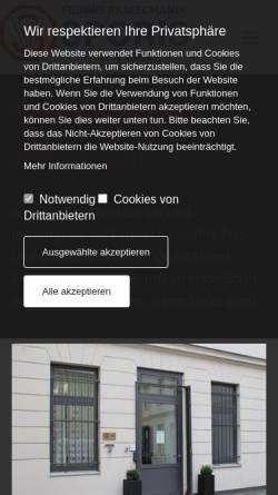 Vorschau der mobilen Webseite www.sporis.de, Sporis Maschinenbau und Dreherei