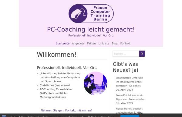 Vorschau von www.veronika-kaiser.de, Web 2.0 in Theorie und Praxis