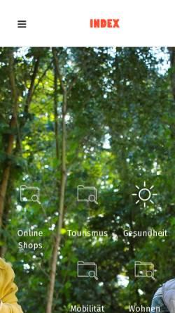 Vorschau der mobilen Webseite www.pensionist.at, Pensionist.at – Recht.Bunt, Edeltraud Gatterer