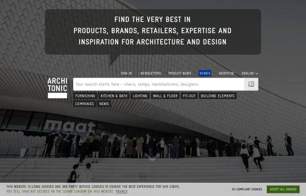 Vorschau von www.architonic.com, Architonic by Architonic AG