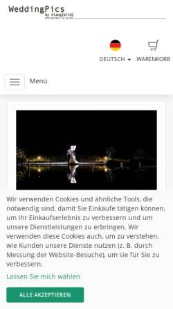 Vorschau der mobilen Webseite www.wedding-pics.net, Müllerke, Guido