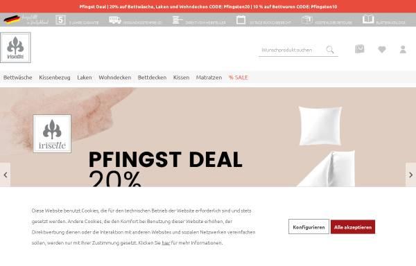 Vorschau von www.irisette.de, Irisette GmbH & Co. KG