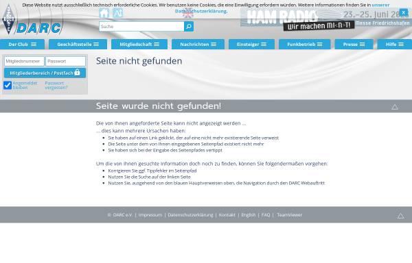 Vorschau von www.darc.de, Ochsenweg-Diplom